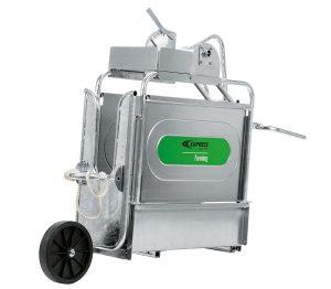 Cage de contention avec son kit mobilité Réf. 47010